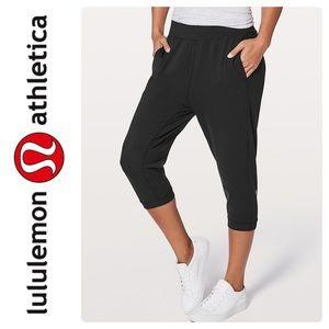 "lululemon athletica Pants - New Lululemon Rejuvenate Crop  18"" Pant In Black"